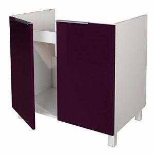 Berlenus-CE8BA-Mueble-bajo-de-cocina-para-situar-debajo-de-la-pila-80-cm-color-berenjena-brillante-0