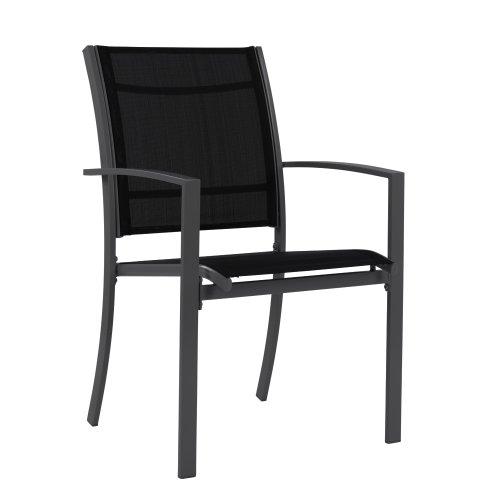 Miadomodo – Muebles para jardín (7 piezas, mesa de cristal y 6 ...